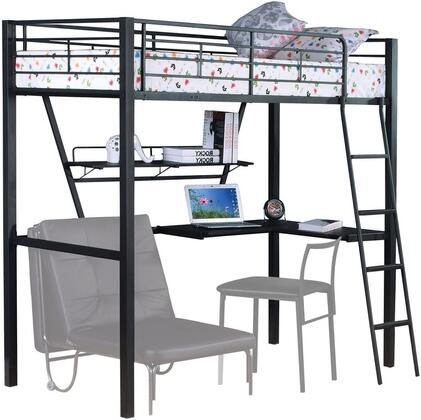 Acme Furniture 37275 Senon Series  Twin Size Loft Bed