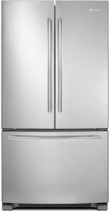"Jenn-Air JFC2089BE 36"" Counter-Depth, French Door Refrigerator with Internal Water/Ice Dispenser, LED Lighting, TriSensor Electronic Climate Control, in Stainless Steel"