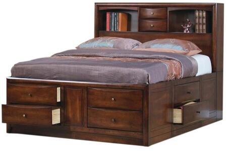 Coaster 200609KE Hillary Series  King Size Bookcase Bed