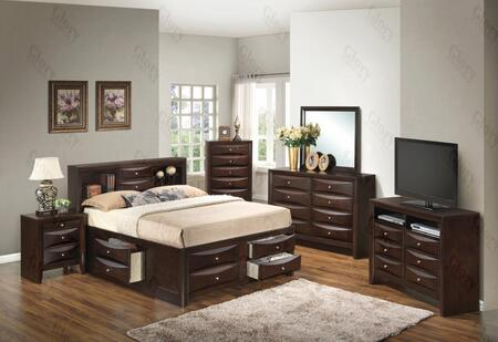 Glory Furniture G1525GQSB3NCH G1525 Queen Bedroom Sets