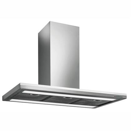 Futuro Futuro ISXSTREAMLINE Streamline Series Range Hood offer 940 CFM, 4-Speed Electronic Controls, Fluorescent Lighting, Delayed Shut-Off, Filter Cleaning Reminder, and in Stainless Steel