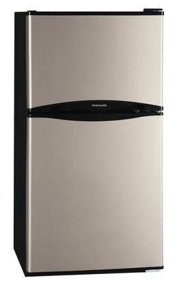 Frigidaire FFPH45F4LM Freestanding Counter Depth Top Freezer Refrigerator with 4.5 cu. ft. Total Capacity 2 Glass Shelves 1.4 cu. ft. Freezer Capacity