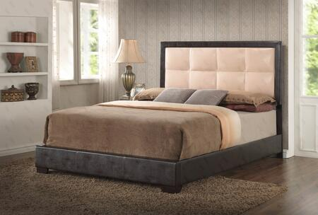 Glory Furniture G2588QBUP G2500 Series  Queen Size Panel Bed
