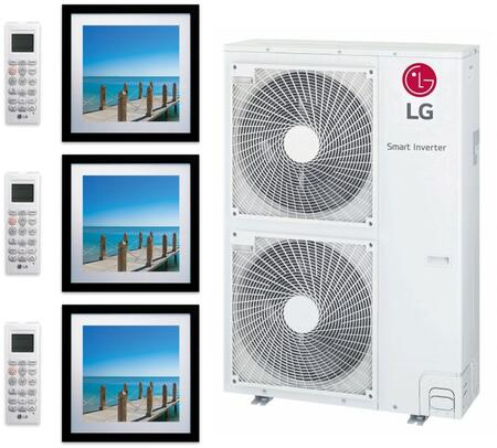 LG 963878 42000 BTU Triple-Zone Mini Split System