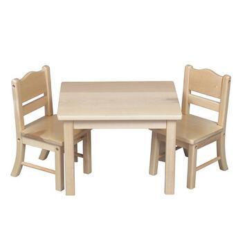 Guidecraft G981YZ Doll Table & Chair Set (X
