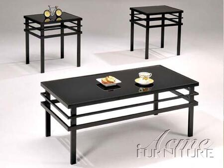 Acme Furniture 12128 Contemporary Living Room Table Set