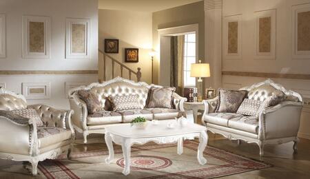 Acme Furniture 53540SLC Chantelle Living Room Sets