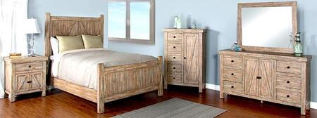 Sunny Designs 2307WBQBDMN Durango Queen Bedroom Sets
