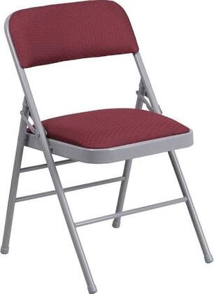 Flash Furniture HF3-X-GG HERCULES Series Triple Braced Fabric Upholstered Metal Folding Chair