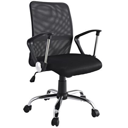 "Modway EEI721BLK 23"" Adjustable Contemporary Office Chair"