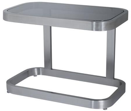 Allan Copley Designs 2110402 James Series Contemporary Rectangular End Table