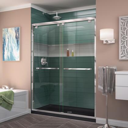Encore Shower Door RS50 01 88B CenterDrain