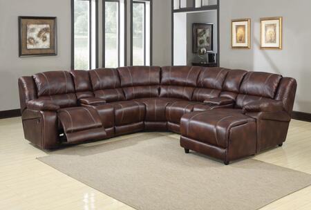 Acme Furniture 50300B Zanthe Series Stationary Microfiber Sofa