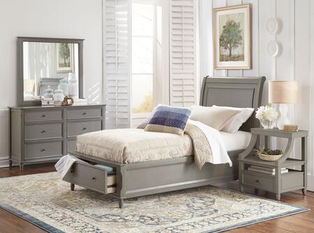 Jofran 1618TPBDMN Avignon Youth Twin Bedroom Sets