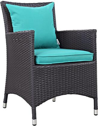 Modway EEI1913EXPTRQ Convene Series  Patio Arm Chair