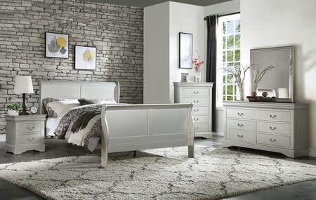 Acme Furniture Louis Philippe III Bedroom Set
