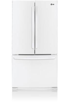 Lg Lfc25776sw French Door Refrigerator With 25 Cu Ft