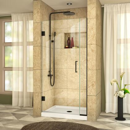 DreamLine UnidoorPlus Shower Door 39 30D 6P 09