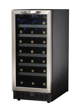 """Danby DWC1534BLS 15"""" Built-In Wine Cooler"""