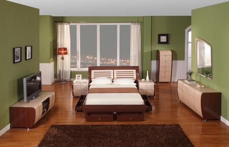 VIG Furniture LIZADRM  Wood Dresser