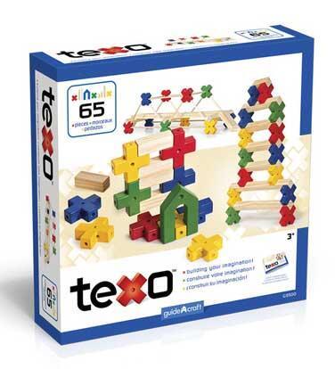 Guidecraft G950X Texo Set (X Pieces)