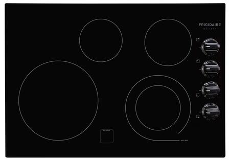 "Frigidaire Gallery Series FGEC3045K 30"" Smoothtop Electric Cooktop With 4 Elements, SpaceWise Expandable Element, Express-Select Controls, Hot Surface Indicator Light, In"