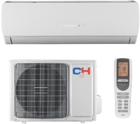 Cooper&Hunter CHxKRLxV Mini Split System with Intelligent Pre-heating, Sleep Mode, Auto Clean, LED Display, Automatic Operation, Self-diagnosing Function, Memory Function, 24-hour Timer, Control Lock,Fan Delay Function and Energy Saving Function in White