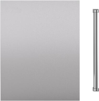 "Sub-Zero 703042 Door Panel with Handle for 24"" Indoor Undercounter Refrigerator Models, in Stainless Steel"