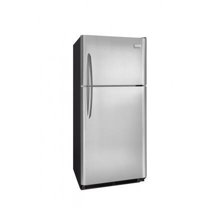 Frigidaire FGUI2149LF Freestanding Top Freezer Refrigerator with 20.6 cu. ft. Total Capacity 4 Glass Shelves 5.25 cu. ft. Freezer Capacity  Appliances Connection