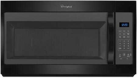 "Whirlpool WMH31017F 30"" Over the Range Microwave with 1.7 cu. ft. Capacity, Microwave Presets, 300 CFM Fan, Dishwasher-Safe Turntable Plate, and Electronic Touch Controls:"