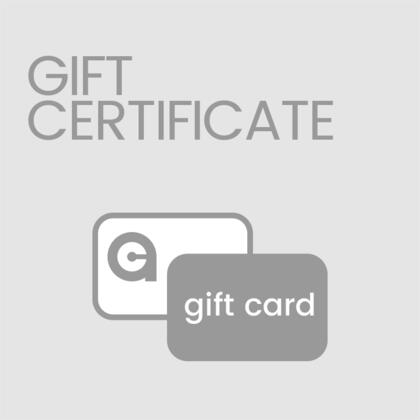 icon gift certificate