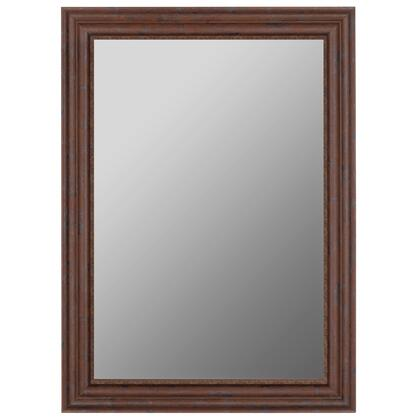 Hitchcock Butterfield 68190X Reflections Olde Butternut-Draped Trim Framed Wall Mirror