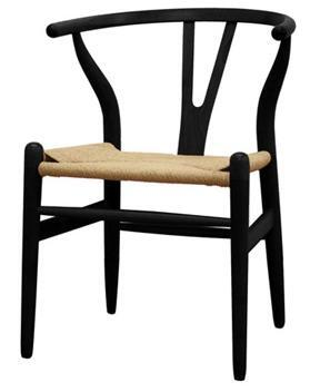 Wholesale Interiors DC-541-X Wishbone Series Wood Y Accent Chair:
