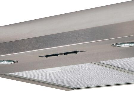 "Air King AB36x 36"" Under Cabinet Range Hood with 250 CFM, Lighting, in x"