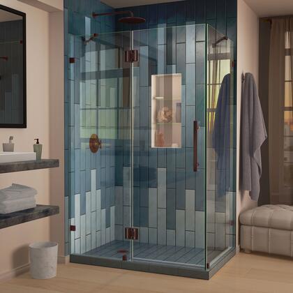 DreamLine Quatra Lux Shower Enclosure RS25 06 Left Drain