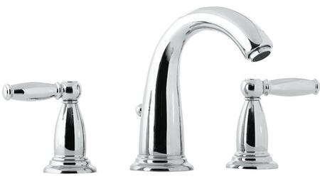 Hansgrohe 6117 Double Handle Widespread Bathroom Faucet with Metal Lever Handles from the Swing C Collection: