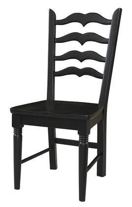 Powell 964436 Traditional Not Upholstered Wood Frame Dining Room Chair