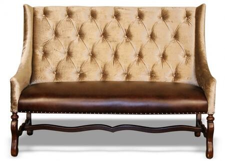 Peninsula Home Collection DC0021042  Wood Fabric Bench