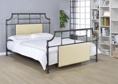 Acme Furniture 25145Q Xava Series  Queen Size Panel Bed