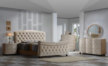 Meridian DIAMONDSLEIGHQSET Diamond Queen Bedroom Sets