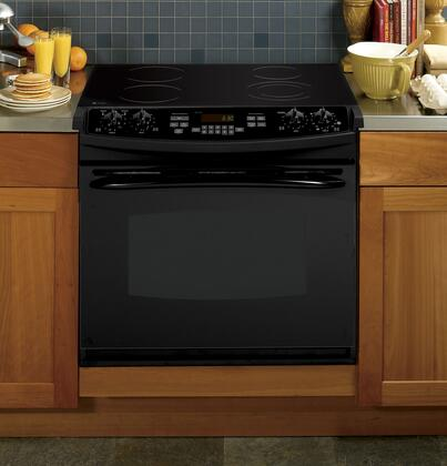GE PD900DPBB Profile Series Slide-in Electric Range with Smoothtop Cooktop, 4.4 cu. ft. Primary Oven Capacity, in Black
