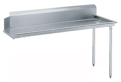 "Advance Tabco DTC-S70-36 35"" Standard Clean Straight Dishtable"
