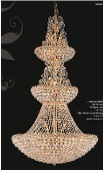 """J & P Crystal Lighting Firework Collection 99005D36 36"""" Wide Chandelier in X Finish"""