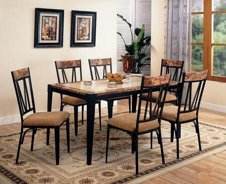 Coaster 120411SET Ocean Park Dining Room Sets