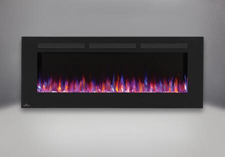 Allure 60 in. Fireplace   Orange and Blue Flame