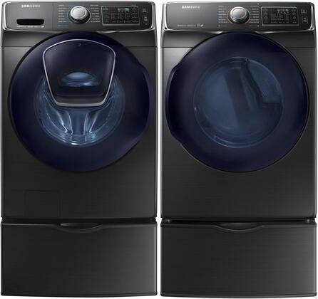 Samsung Appliance 691543 Black Stainless Steel Washer and Dr