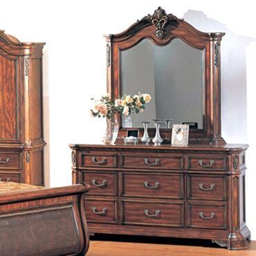Yuan Tai TI5926M Tipton Series Arched Portrait Dresser Mirror