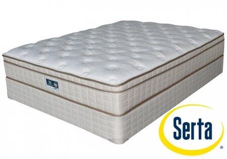 Serta ET540466Q Grandbury Series Queen Size Euro Top Mattress