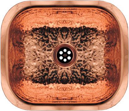 Whitehaus WH690CBB Hammered Copper Kitchen Sink   Appliances Connection