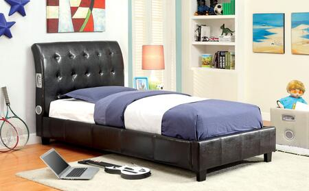 Furniture of America CM7057TBED Hendrik Series  Twin Size Bed